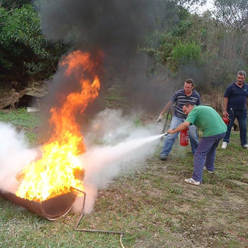 Imagem de Treinamento para Brigada de Incêndio