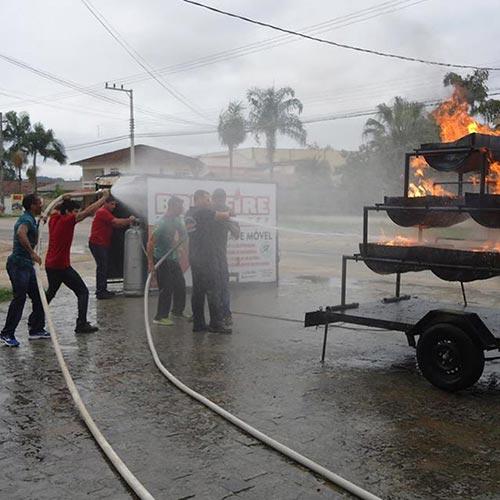 Imagem de Treinamento para Controle de Fogo