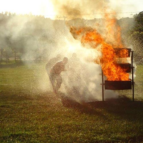 Imagem de Treinamento para Combate ao Fogo