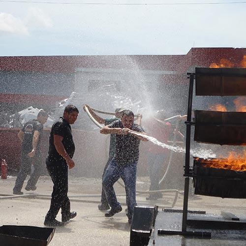 Imagem de Treinamento para Controle de Incêndio