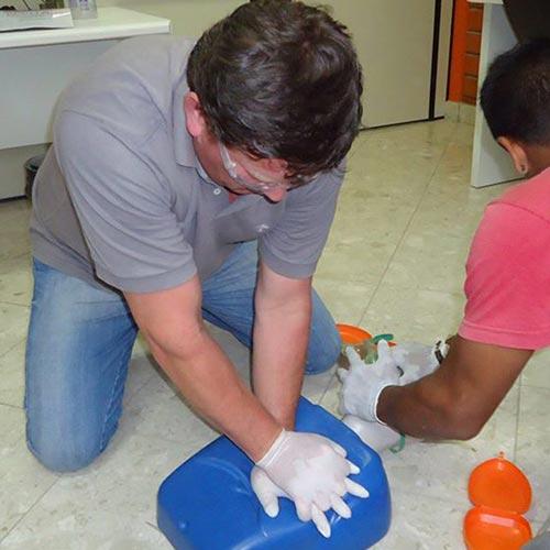 Imagem de Treinamento para Primeiros Socorros